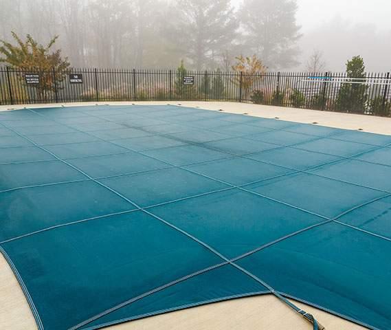 Bâche de couverture de piscine extérieure